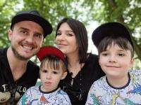 serban copot și familia, foto instagram