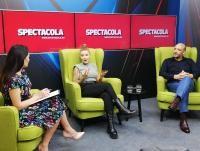 Nicoleta Nucă și Ensar Duman la interviurile Spectacola de Weekend