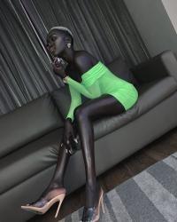 Nyakim Gatwech, instagram