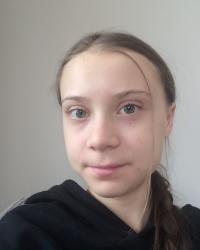 Greta Thunberg. Foto Facebok