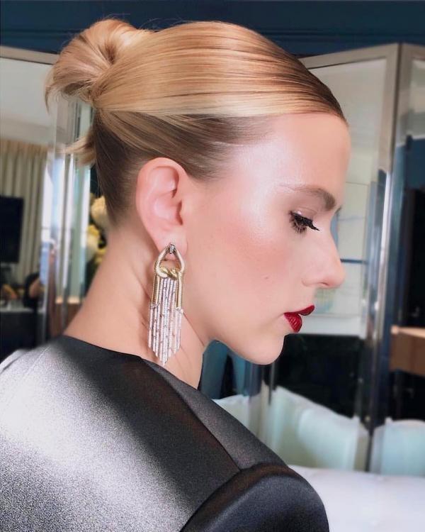 Scarlett Johansson, instagram