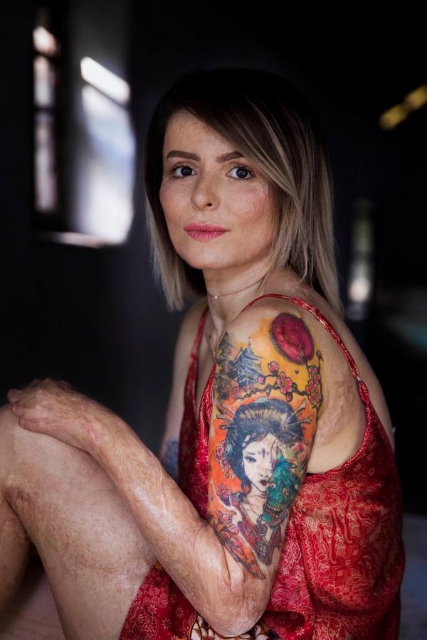 Oana, supraviețuitoarea de la Colectiv, FOTO Atlasul frumusetii/Facebook