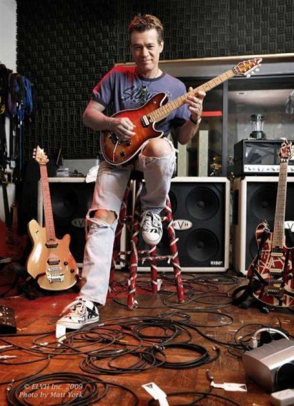 Eddie Van Halen, Foto: Facebook