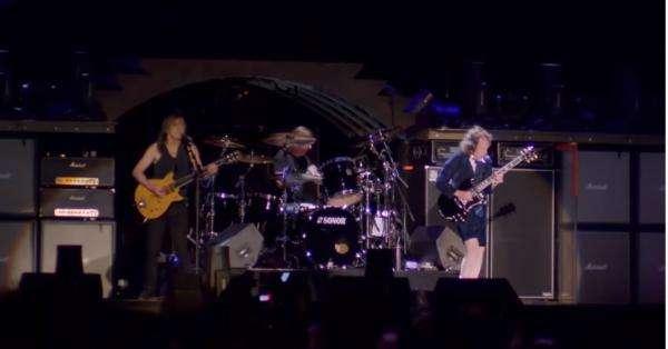 AC/DC în concert la River Plate. Captură video Youtube/ AC/DC