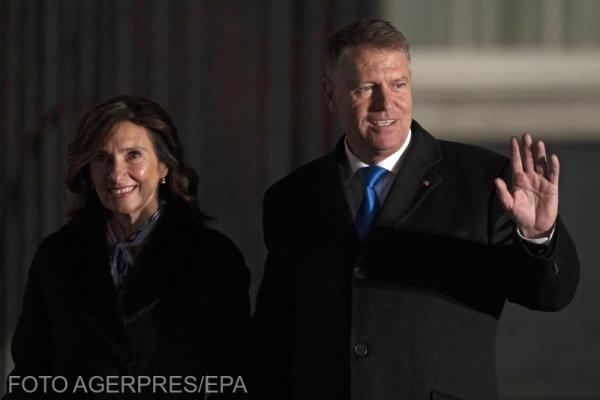 Claus Iohannis și Carmen Iohannis/ Foto:Agerpres