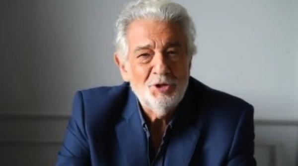 Placido Domingo, captură video instagram