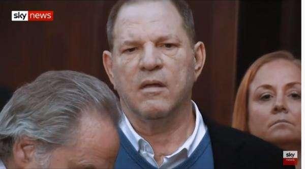 Harvey Weinstein, captură video Youtube/Skynews