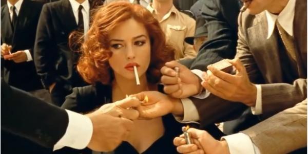 Monica Bellucci, captură video Youtube, trailer Malena