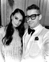 Anca Serea și Adi Sînă, foto Instagram