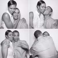 Barack Obama și soția sa, foto Instagram