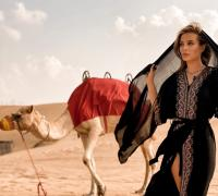 Ana Baniciu în Dubai, foto arhiva personală
