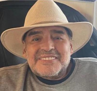 Diego Maradona, foto instagram