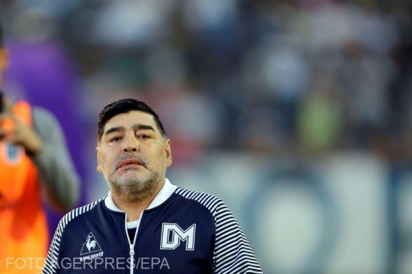 Diego Armando Maradona. Foto Agerpres.