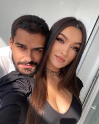 Viviana Sposub și George Burcea. Foto Instagram