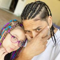 Connect-R și fiica lui, sursa foto Instagram