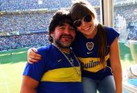 Dalma și Diego Maradona, foto Instagram