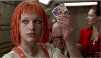Milla Jovovich în Al Cincilea Element
