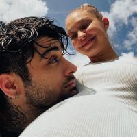 Gigi Hadid și Zayn Malik, foto Instagram