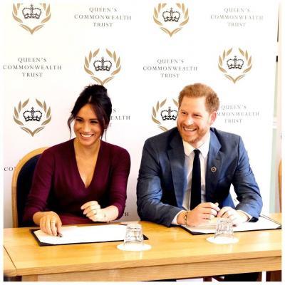 Prințul Harry și Megan Markle, foto Instagram/SussexRoyal