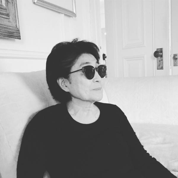 Yoko Uno, foto Instagram