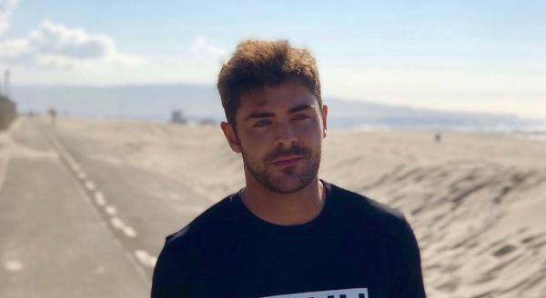 Zac Efron, foto instagram