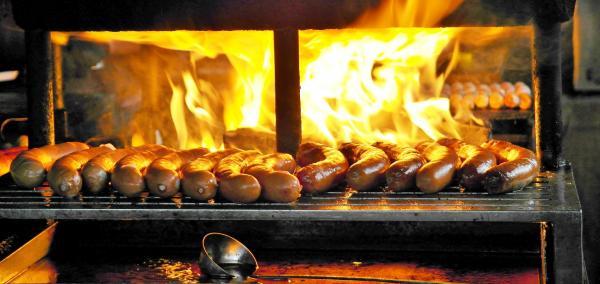 Bratwurst, foto unplash