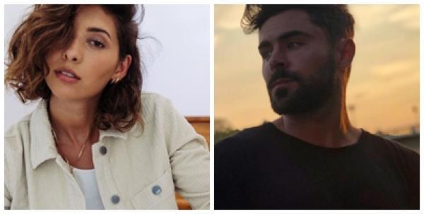 Vanessa Valladares și Zac Efron, sursa foto Instagram