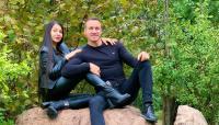 Alin Oprea și iubita sa, Medana. Foto Facebook