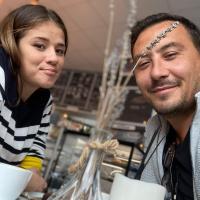 Ștefan Stan alături de soția sa, foto Facebook