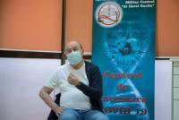 Traian Băsescu, foto Facebook/ Spitalul Miliar