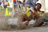 Alina Rotaru, atletă calificată la Jocurile Olimpice de la Tokyo în proba de săritură în lungime.