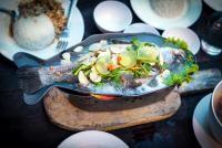 Biban de mare cu garnitură de quinoa și legume, sursa pixabay/autor Arek Socha