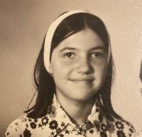 Marina Almășan, foto Arhiva personală