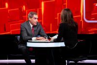 """Petre Roman la """"40 de întrebări cu Denise Rifai"""", foto Kanal D"""