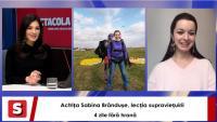 Sabina Brândușe, la interviurile Spectacola și DC News