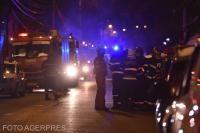 """Incendiu Spitalul """"Matei Balș"""" din București, sursa foto Agerpres"""