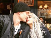 Zoe Kravitz şi Karl Glusman, foto Instagram