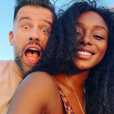 Florin Ristei și Naomi Hedman, sursa foto Instagram