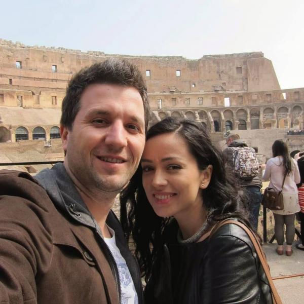 Olivia Steer și Andi Moisescu, sursa foto Instagram