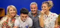 Mario Fresh, împreună cu familia/ captura foto Instagram