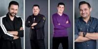 Cătălin Măruță, Mihai Bobonete, Constantin Diță și Mihai Rait, foto ProTV
