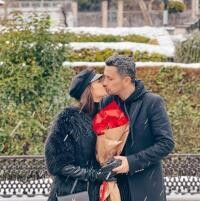 Flick și Denisa Filcea, sursa foto Instagram
