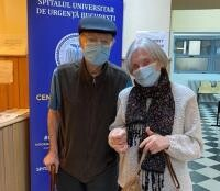 Sotii Popescu, foto Facebook/ Ro Vaccinare