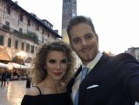 Ilan și Alina Laufer, foto Facebook