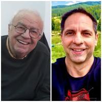 Alexandru Arșinel și Dan Negru, sursa instagram