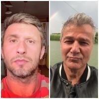 Dragoș Bucur și Dan Bittman, sursa instagram
