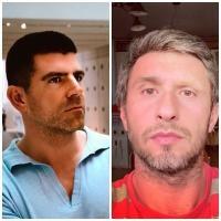 Dragoș Bucurenci și Dragoș Bucur, sursa instagram