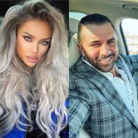 Bianca Drăgușanu și Alex Bodi/ Colaj Foto/ sursa foto Instagram