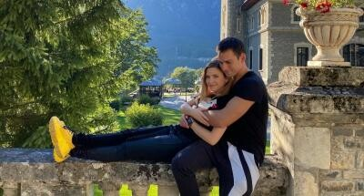 Cristina Ciobănașu și Vlad Gherman, sursa foto Instagram