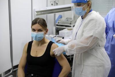 Simona Halep, sursa RO Vaccinare